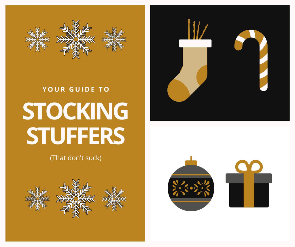 Your Guide to Stocking Stuffers (That Don't Suck) Under $40 | Stocking Stuffers for Fidgeters, Survivalists, and Hobbyists