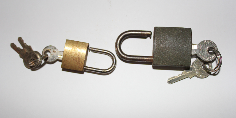 How a Tumbler Lock Works