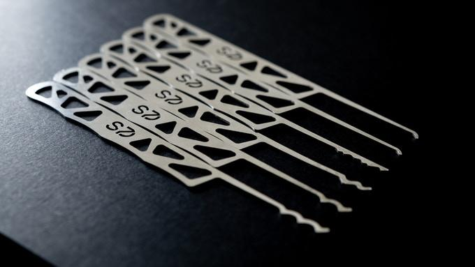 EDC Lock Pick Sets Designed for Everyone | Alpha-Indigo V1
