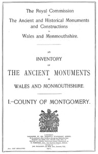 Montgomeryshire: An Inventory of the Ancient Monuments in the County (eBook)