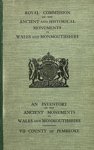 Pembrokeshire: An Inventory of the Ancient Monuments in the County (eBook)