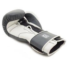 MAK-10 Boxing Gloves, Grey/White, 12oz/16oz