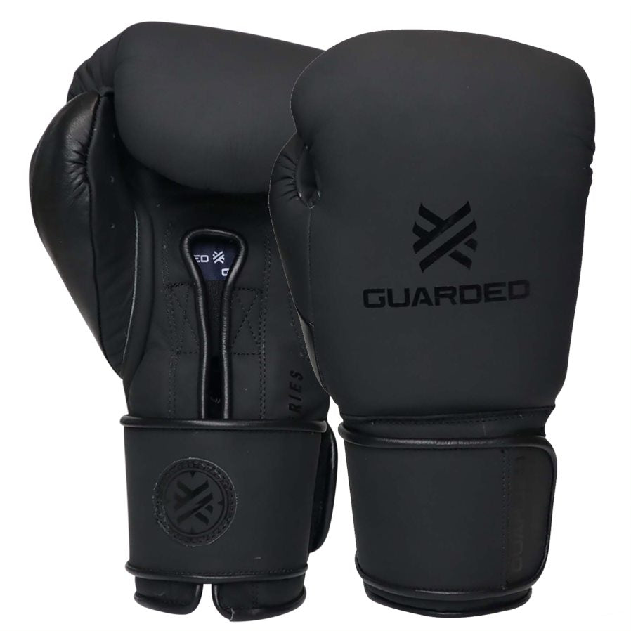 Beretta Pro Boxing Gloves, Matte Black