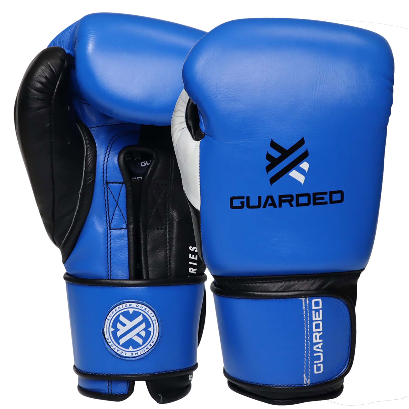 Beretta Pro Boxing Gloves, Blue/Black
