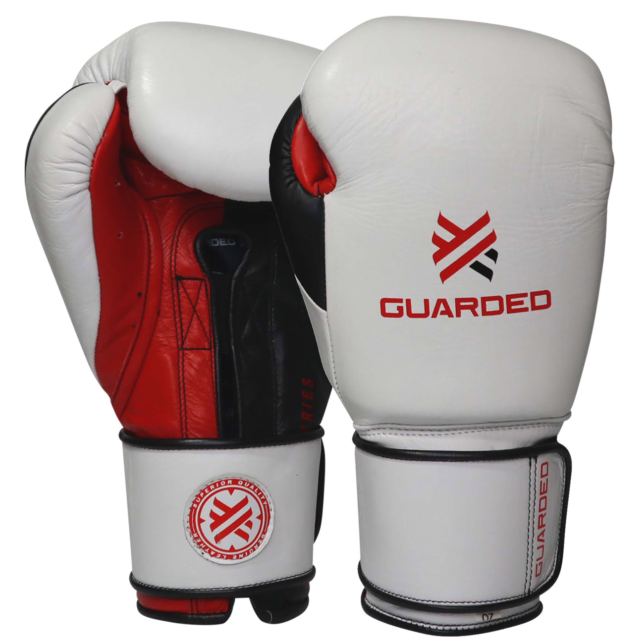 Beretta Pro Boxing Gloves, White/Red