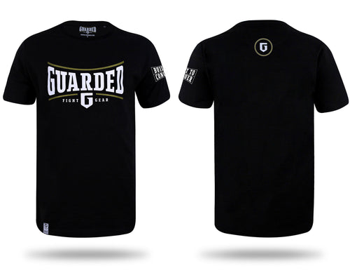 T-shirt, Black or White, S, M, L, XL - Built To Conquer Series 1 By Guarded Fight Gear