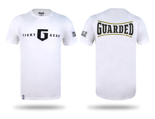 T-shirt, Black or White, S, M, L, XL, Built To Conquer Series 2 by Guarded Fight Gear