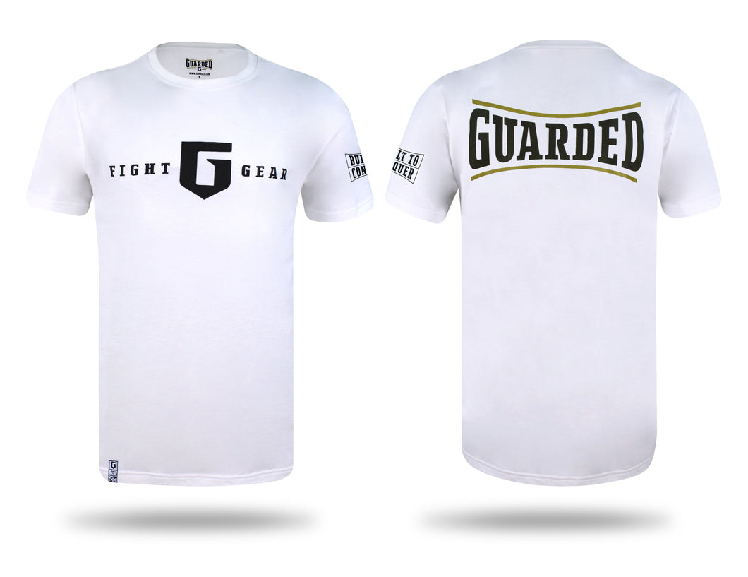T-shirt, Black or White - Built To Conquer Series 2