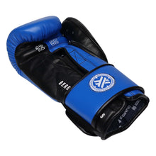 Boxing Gloves for Bag work & Sparring, Blue & Blue, 12oz/16oz, Beretta Pro by Guarded Fight Gear