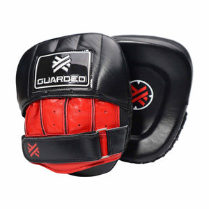 Focus Mitts, Micro, Black/Red