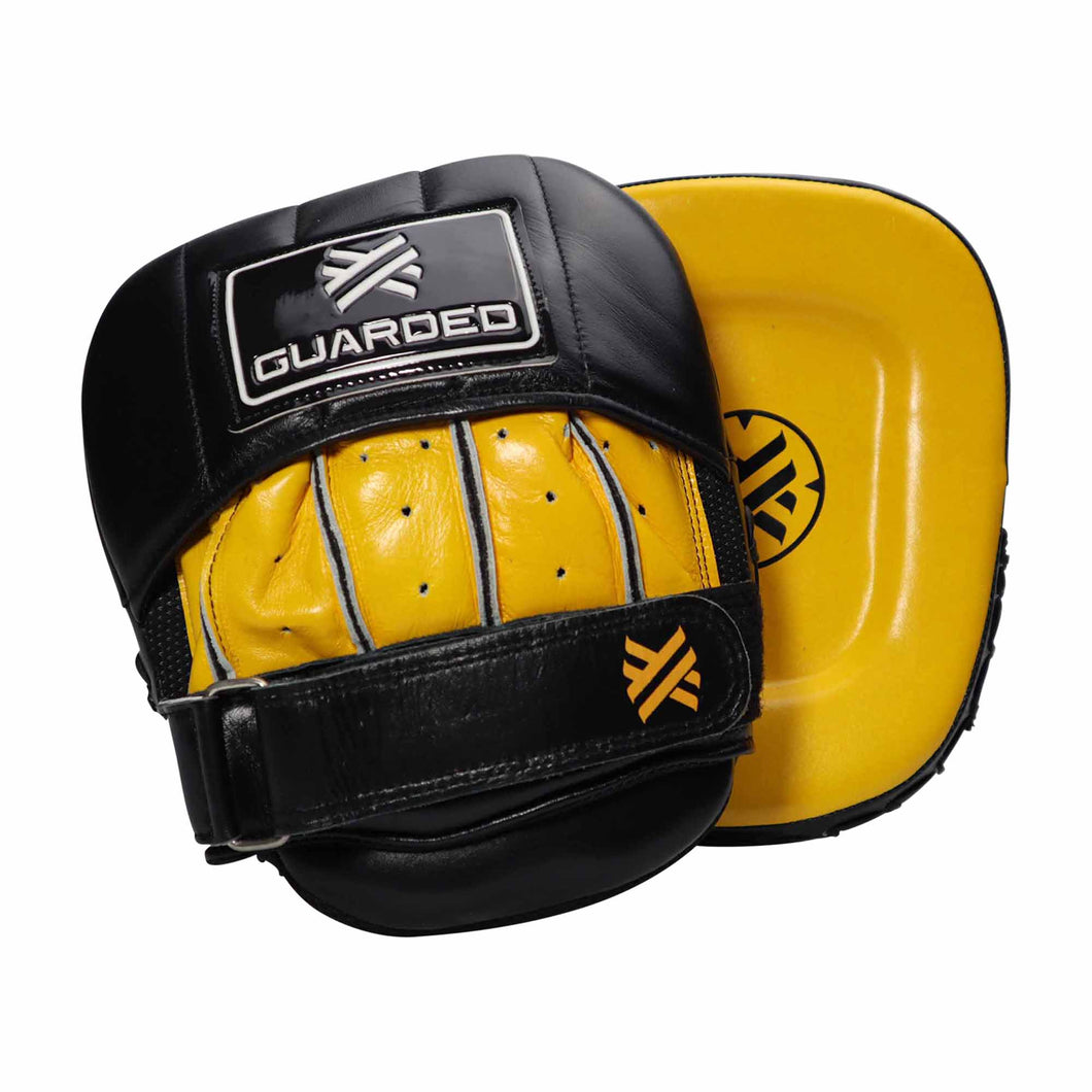 Focus Mitts, Micro, Black/Yellow