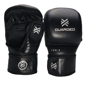 TEK-9 MMA Sparring Gloves, Black, 7oz