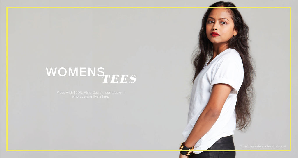 Women's Tees - Collect Interior