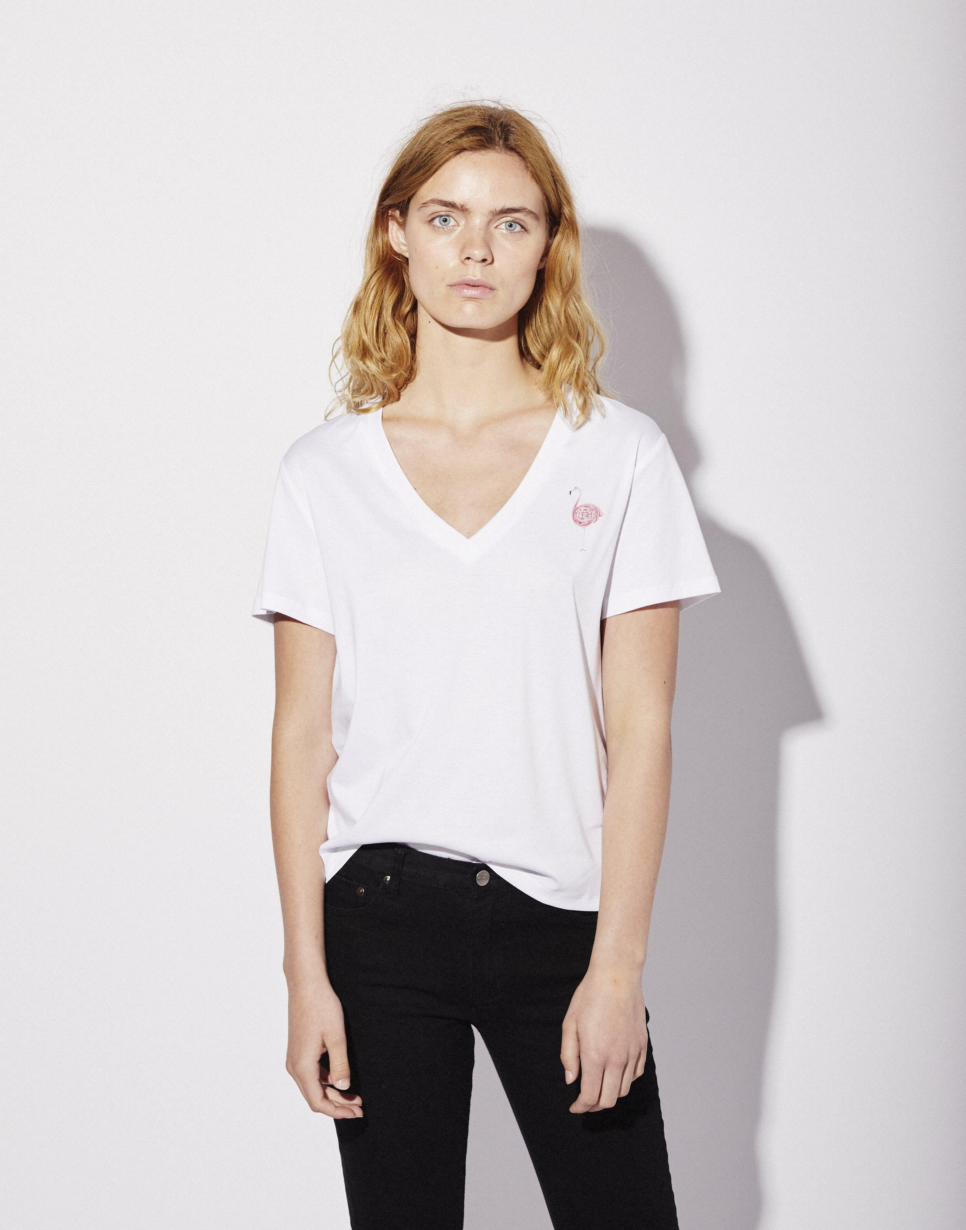 Penelope V-neck T-shirt