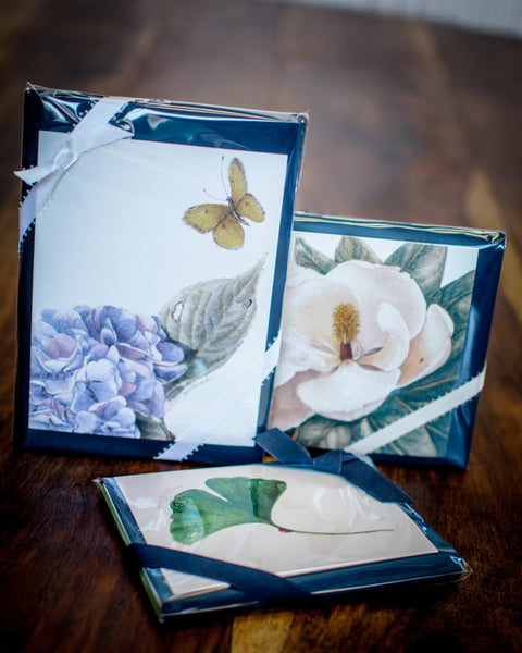 Ginkgo Note Cards