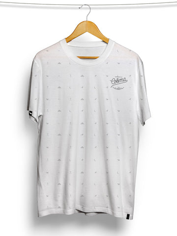 PLAYERA ÍCONOS (BLANCO)