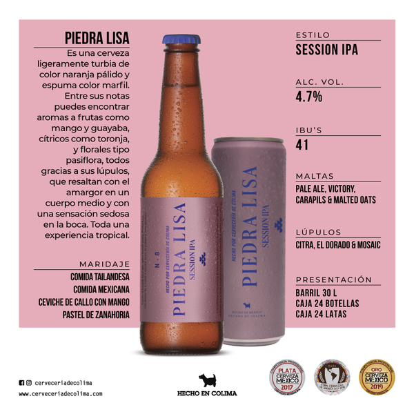 PIEDRA LISA | Botella | 12 pack |
