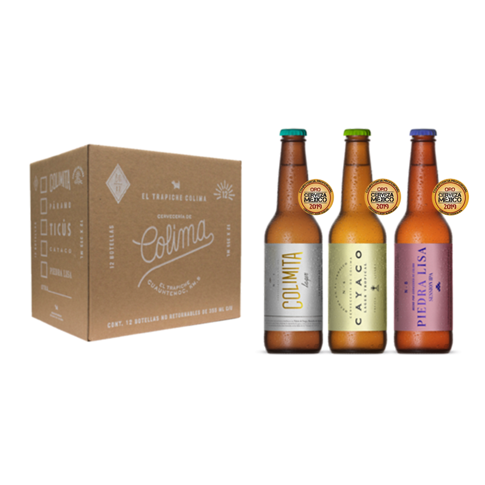 CERVEZAS ORO| MIX PACK | Botella | 12 Pack |