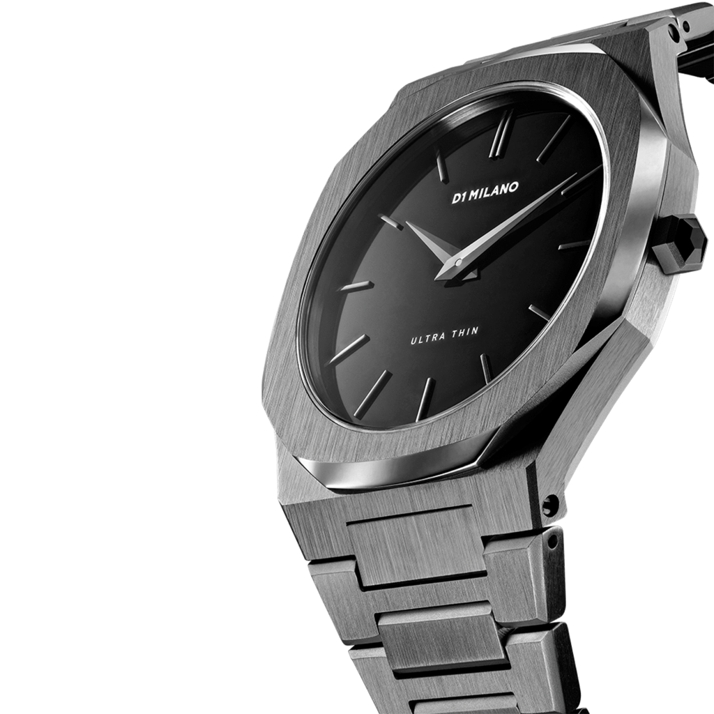 A-UTB02 D1 Milano Gunmetal Ultra Metal 40mm
