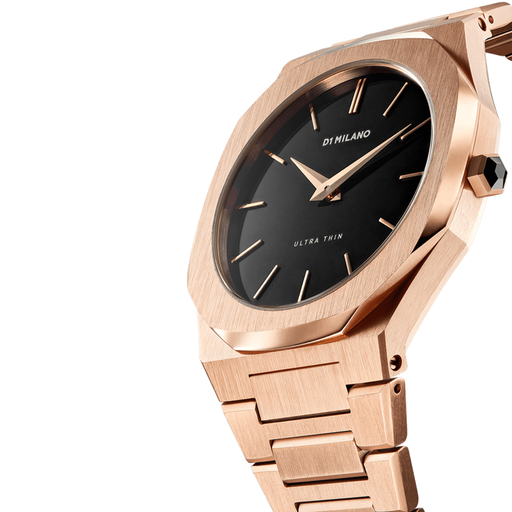 A-UTB03 D1 Milano Rose Gold Ultra Metal 40mm