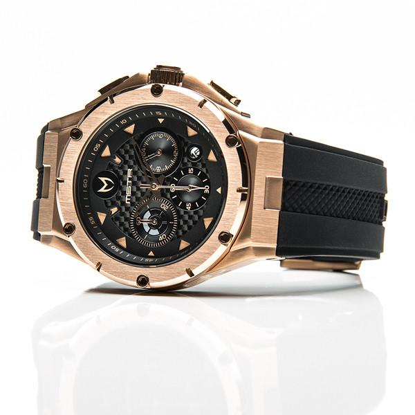MSTR AM208RB MKIII STAINLESS STEEL CASE - ROSE GOLD / BLACK / CARBON FIBER