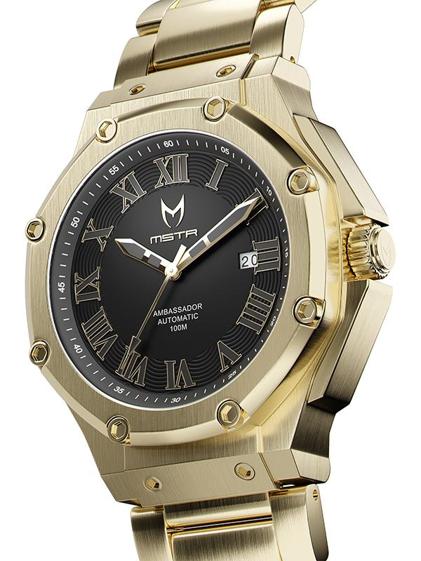 MSTR AM315SS - AUTOMATIC GOLD / STEEL BAND