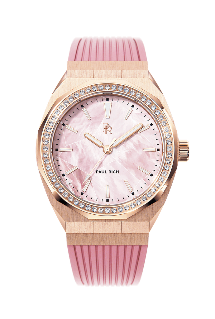 PAUL RICH HEART OF THE OCEAN - PINK ROSE GOLD