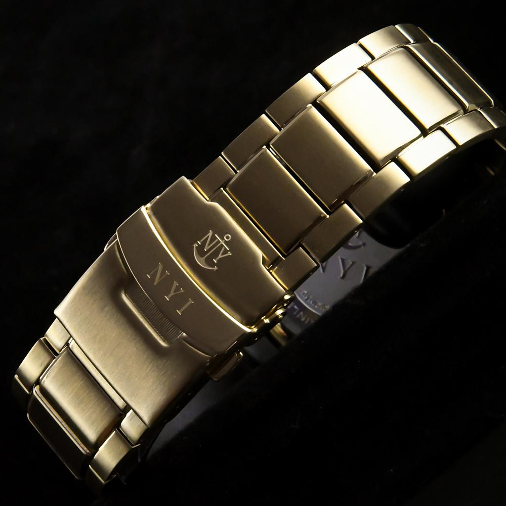 NYI HERALD 3.0 STAINLESS STEEL BAND