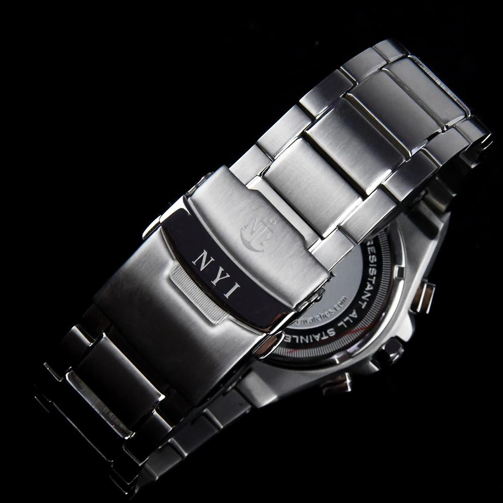 NYI HILLMAN 3.0 STAINLESS STEEL BAND