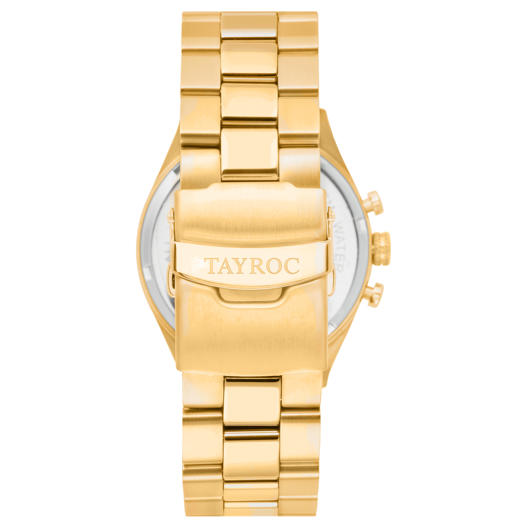 TAYROC LOTUS All Gold 42mm