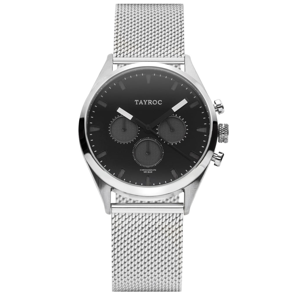 TAYROC MISMI Silver Black 42mm