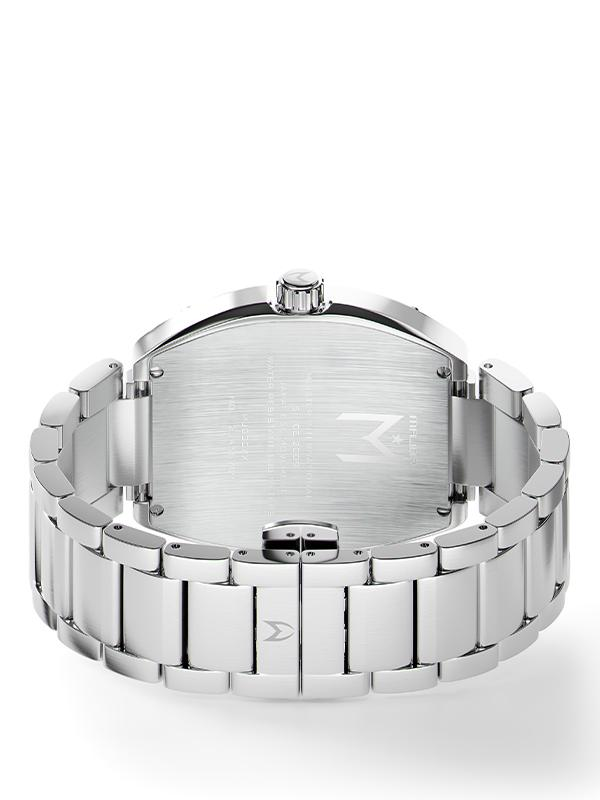 MSTR MJ124SS - MAJOR SILVER / SILVER / SS BAND