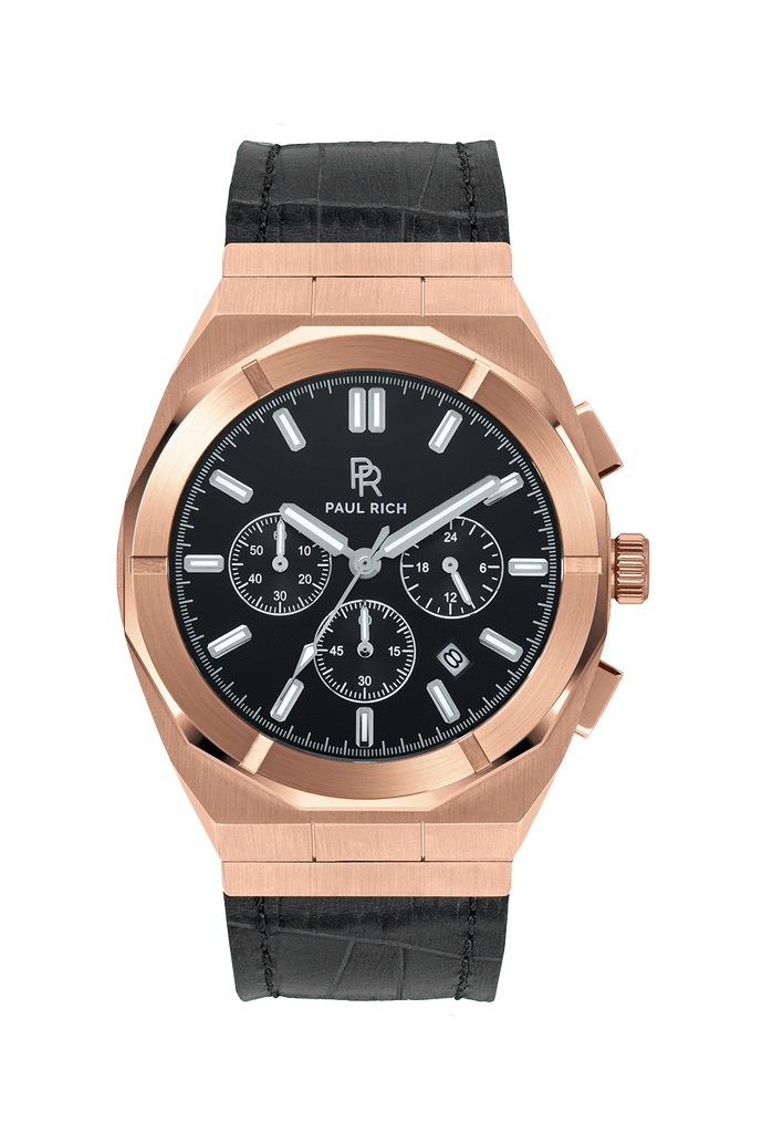 PAUL RICH MOTORSPORT - ROSE GOLD LEATHER