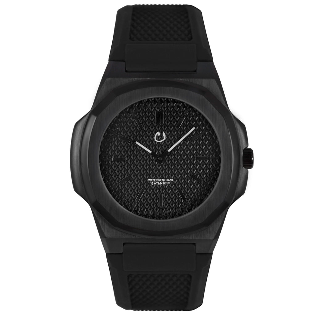 NUUN Montre Black Stainless Steel NEW