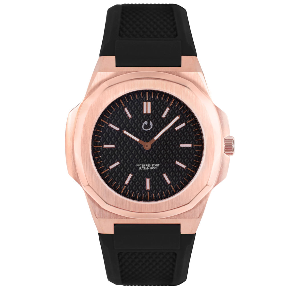 NUUN Montre Rose Gold Stainless Steel NEW