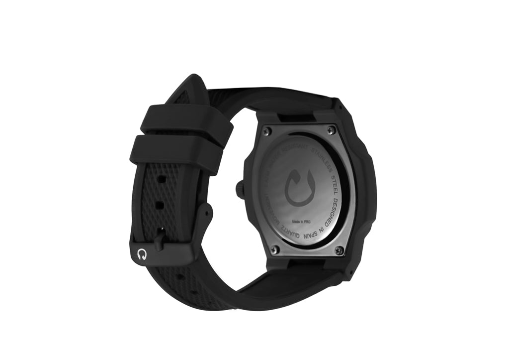 NUUN MIDNIGHT BLACK RUBBER BAND