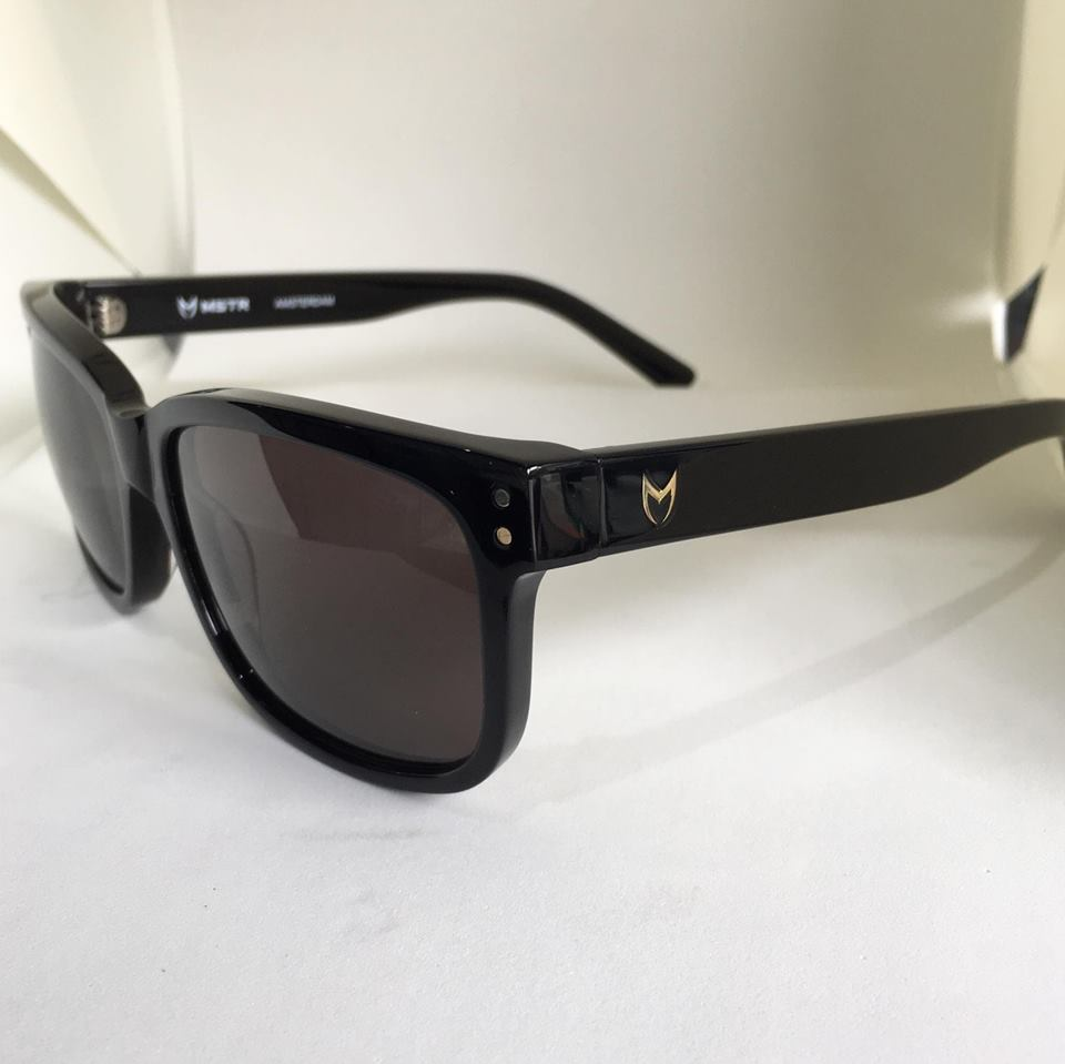 MSTR SG205AC BLACK WITH BLACK POLARIZED LENSES