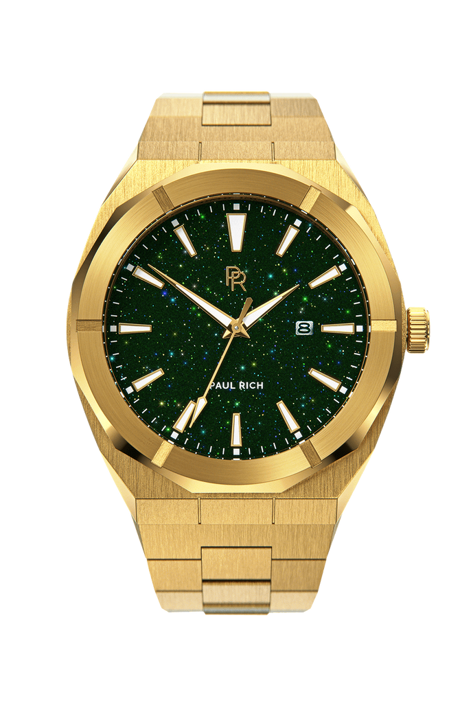 PAUL RICH STAR DUST - GREEN GOLD AUTOMATIC