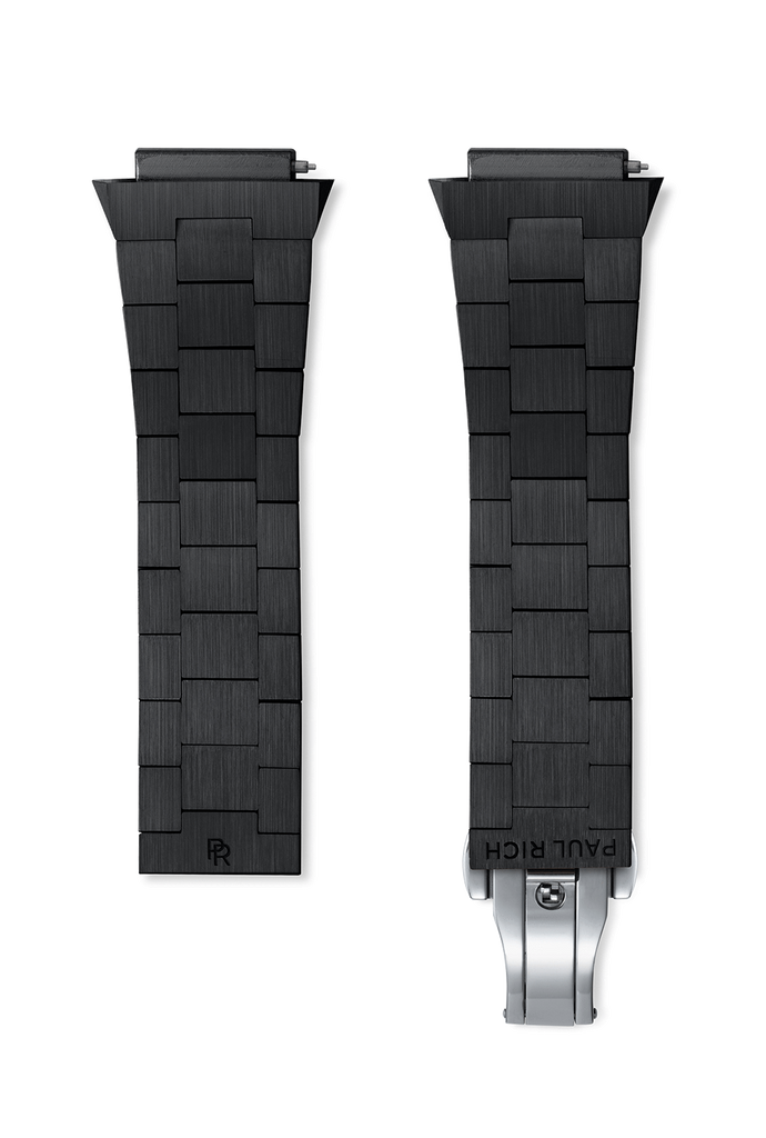 STEEL WATCHBAND - BLACK