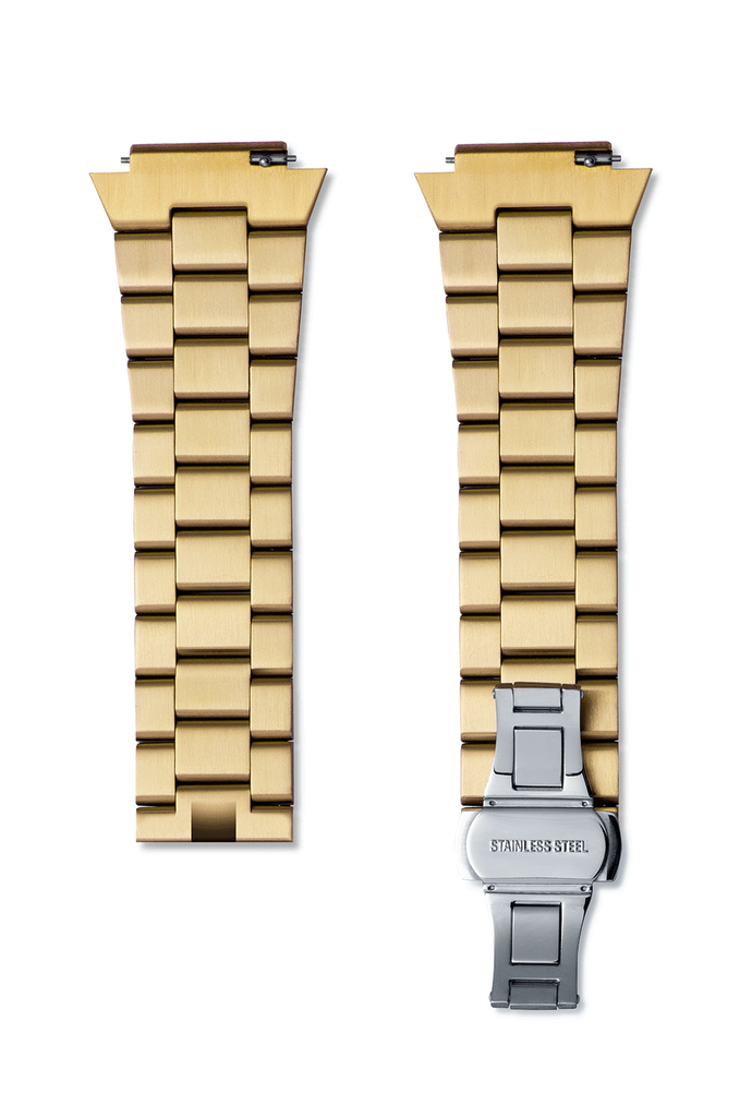 STEEL WATCHBAND - GOLD