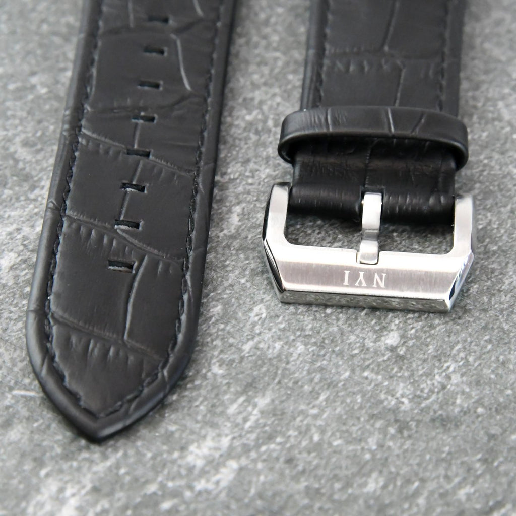 NYI STRAP - BLACK LEATHER