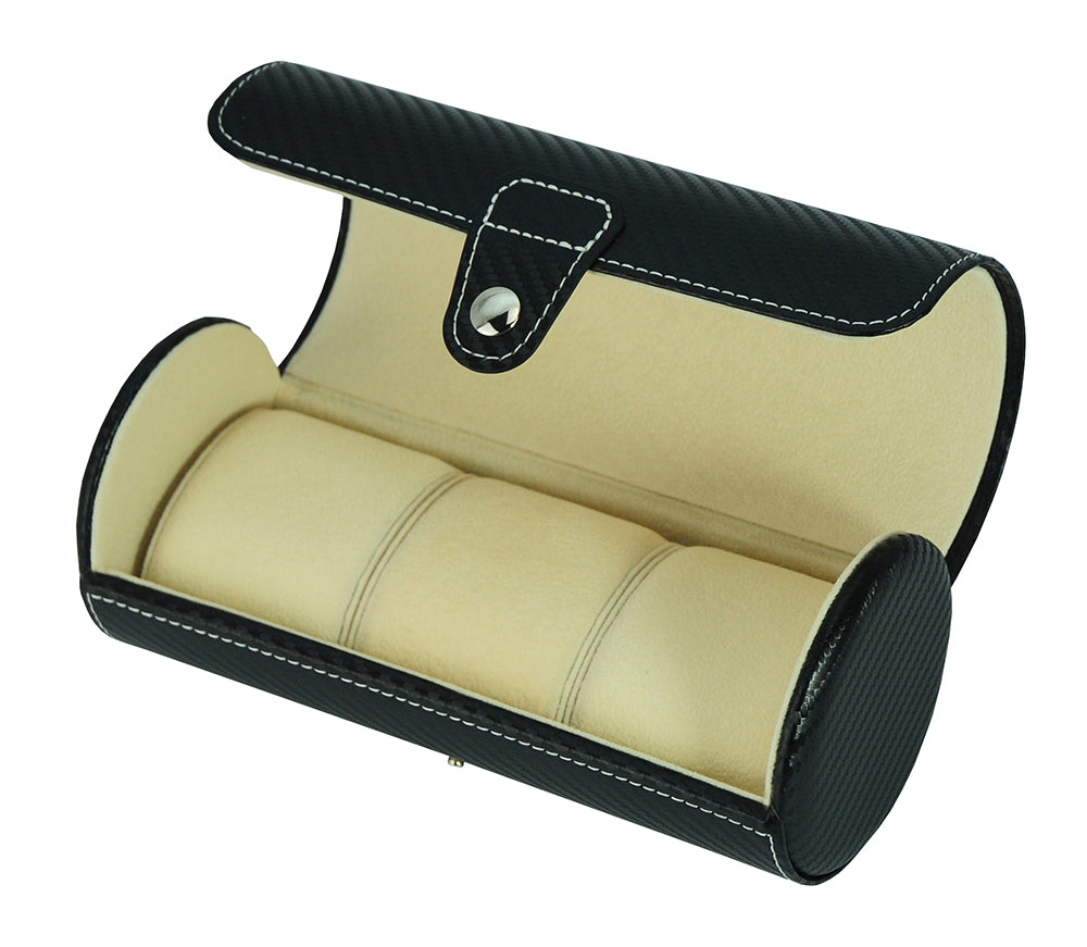 TRAVEL LEATHER BOX WW-1205 BL