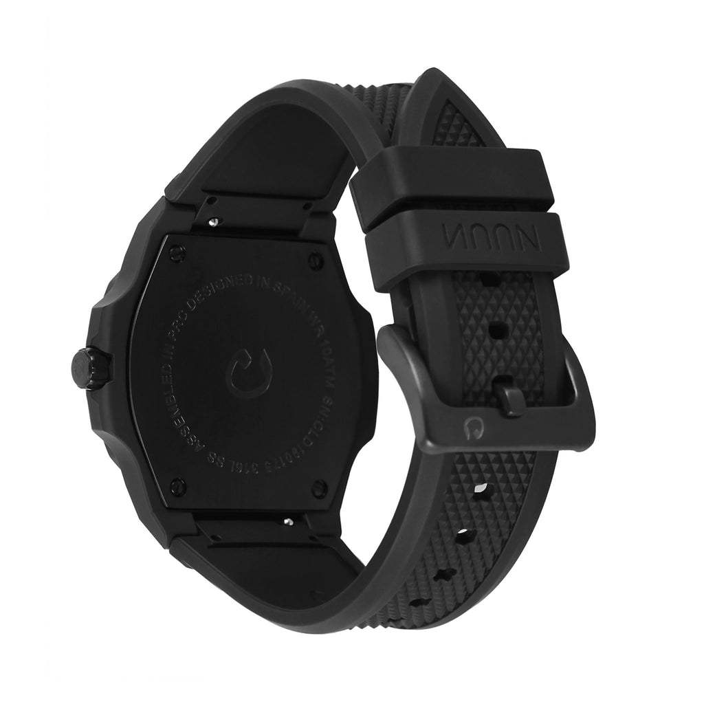 NUUN SEQUENT BLACK RUBBER BAND