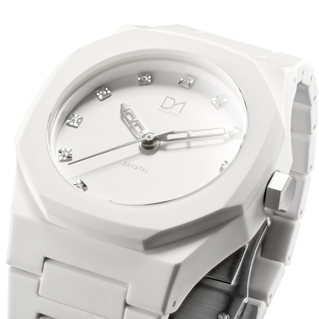 A-CR02 D1 Milano White Crystal