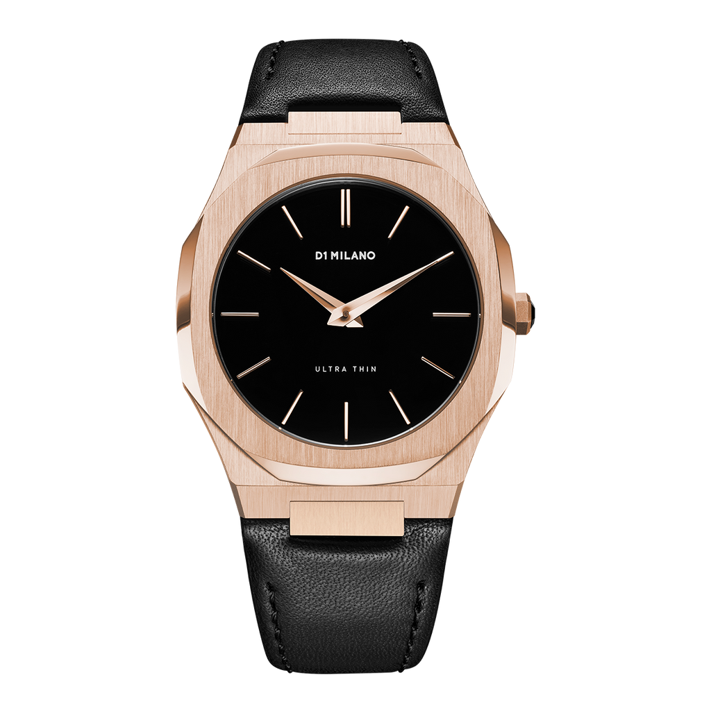 D1 MILANO UTLJ03 Ultra Thin Leather 40 mm