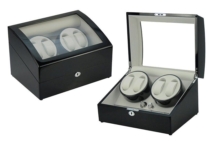 WOODEN WATCH WINDER WW-1205 BL