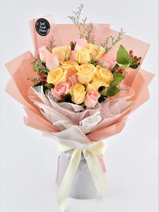 Beautiful Fresh Flower Bouquet |Ipoh Free Delivery| Ipohfreshflower.com