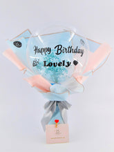 Load image into Gallery viewer, Bubble Balloon Bouquet| Ipoh Free Delivery| Ipoh Fresh Flower