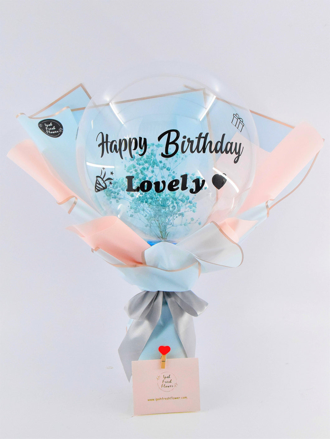 Bubble Balloon Bouquet| Ipoh Free Delivery| Ipoh Fresh Flower