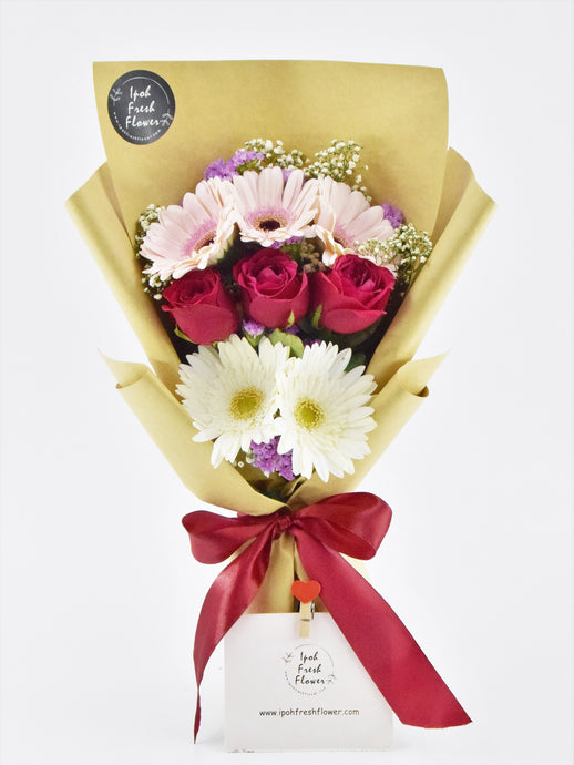 Fresh Flower Bouquet | Ipoh Free Delivery| Ipohfreshflower.com